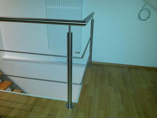 Innenausbau komplett samt Treppe und Geländer